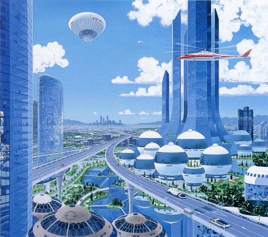 Japanese Sci Fi Art Iso50 Blog: JAPANESE SCI-FI ART (early 80-s)