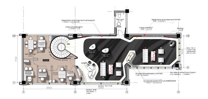 Lamborghini Showroom Concept Vivianawang