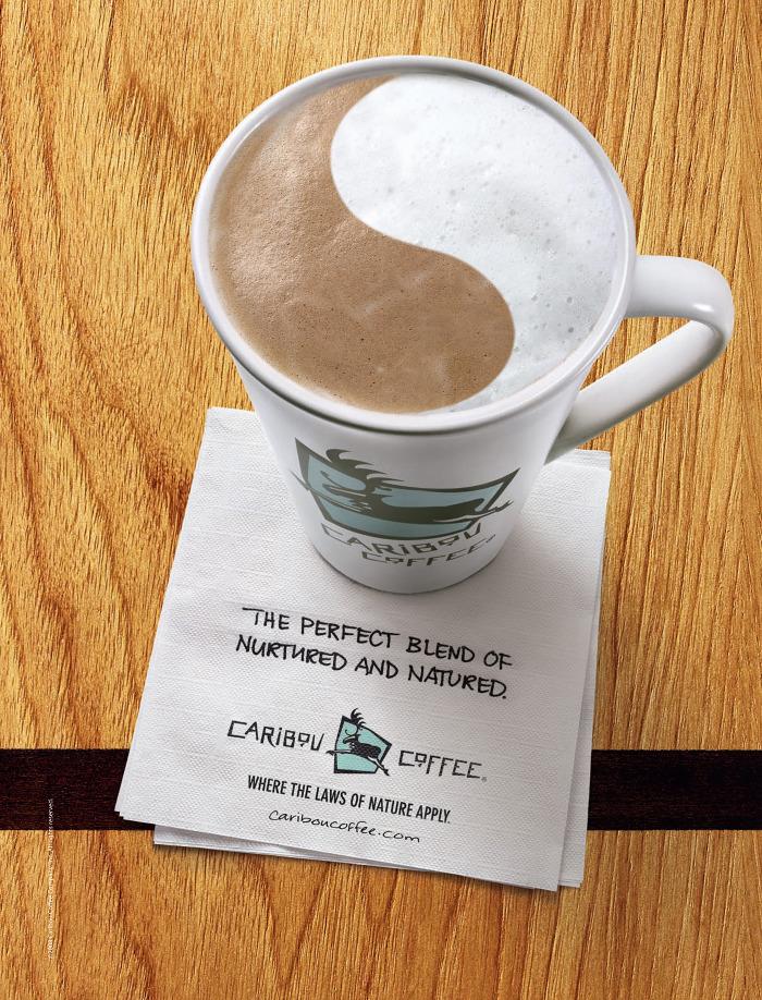 Caribou Coffee Ads